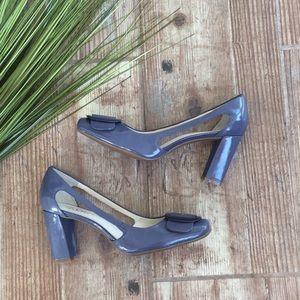Franco sarto leather heels like new